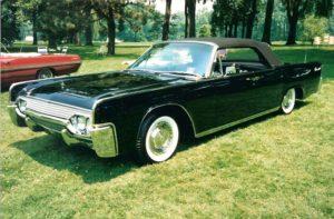 1961 Lincoln Black
