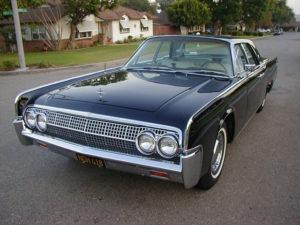 1963 Lincoln, Black