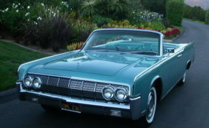 1964 Lincoln Teal