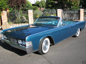 1965 Lincoln, Blue