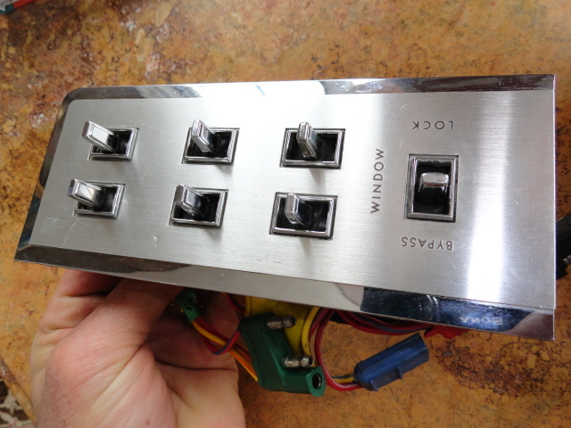 Lincoln Window Switch Rebuild